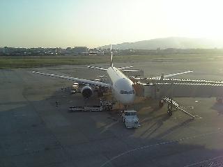 伊丹空港より