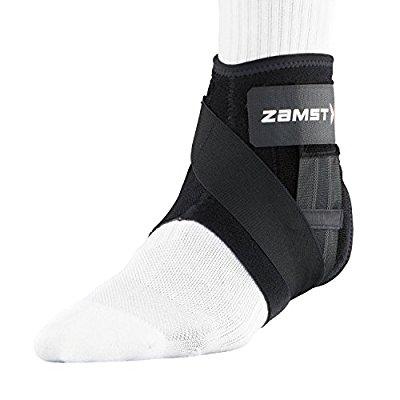ザムスト(ZAMST) 足首 サポーター A1ショート バスケ バレー Mサイズ 左足用 ブラック 370712